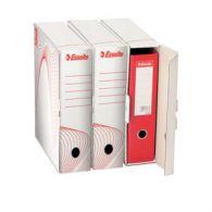 10024 Archivačná krabica na pákové zakladače 80mm, biela