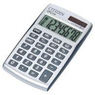 Citizen CPC110 strieborná 10 miest.kalkulačka vrecková 103046