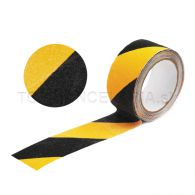 Protišmyková páska na schody 5m žltá / čierná