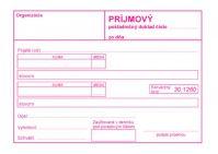 320 Príjmový pokladničný doklad bez DPH-samoprepis
