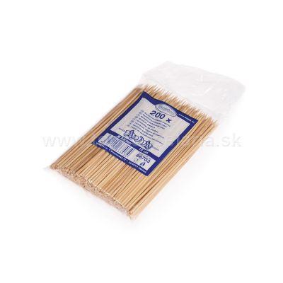 Špajdle z bambusu ostré