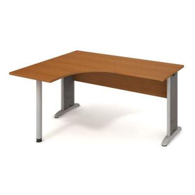 CE 60 P Stôl ergo pravý typ RM 100 CROSS 160x75,5x120(60x60) cm